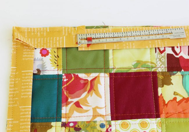 Quilted Fall Placemat Tutorial