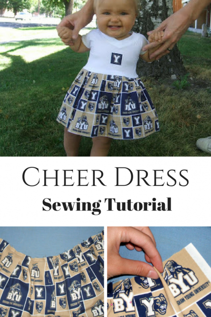 Cheer Dress Tutorial
