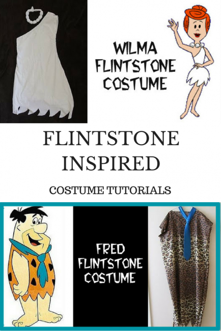 Flintstone Inspired Costume Tutorials