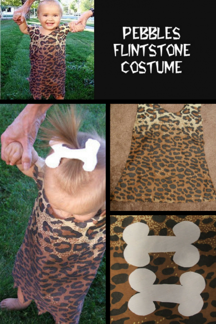 Pebbles Flintstone Costume Pattern