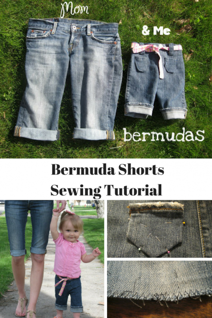 Cut Off Shorts Tutorial