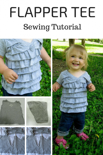 Flapper Tee Tutorial