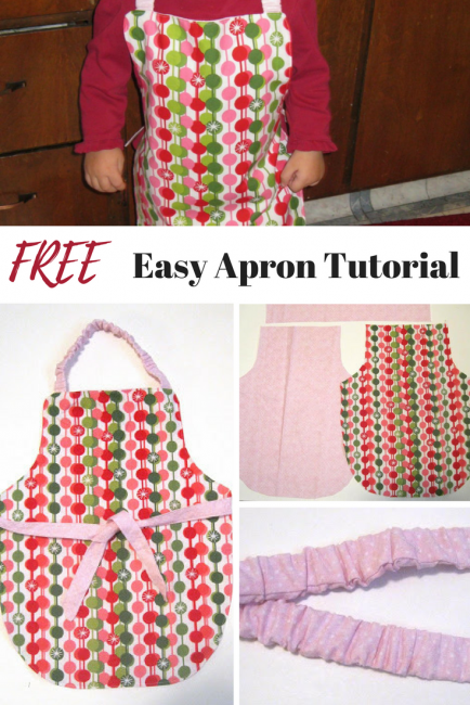 Easy Free Apron Tutorial