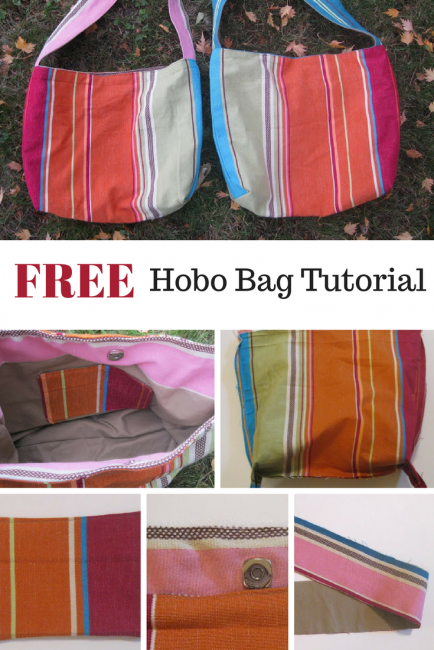 FREE hobo bag tutorial