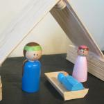Free Toy Nativity Tutorial