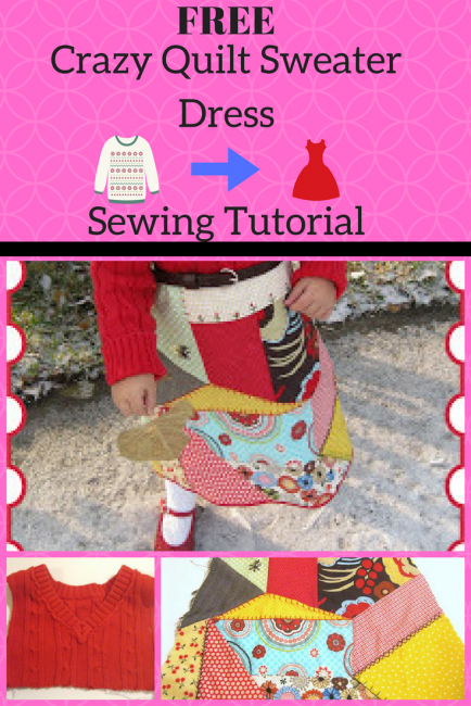 Sweater Dress Tutorial