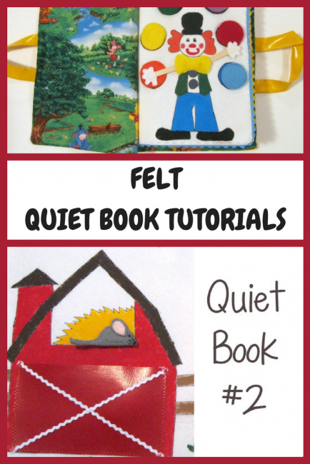 Felt Quiet Books Tutorial