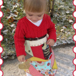 Crazy Quilt Sweater Dress