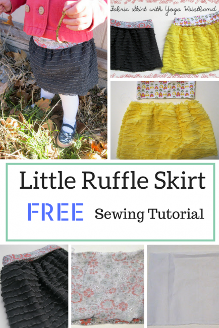 Little Ruffle Skirt Sewing Pattern