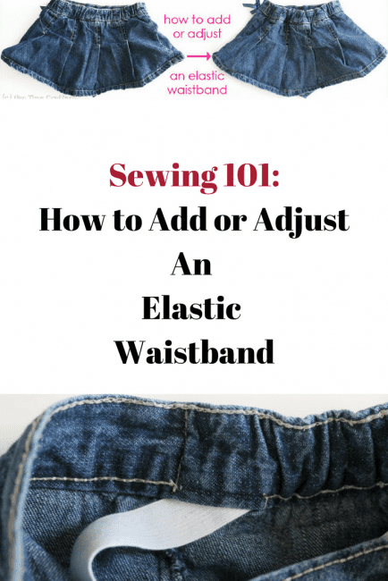 How to Add a Waistband