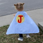 Super Hero Cape Free Pattern