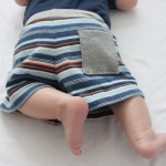 Baby Shorts from Sleeves!