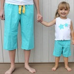 Mini & Me Summer PJs Tutorial