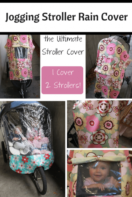 How to make a rain cover for a stroller