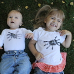 Spooky Handprint Spider Tee Shirts