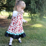 Holiday Pillowcase Dress Tutorial