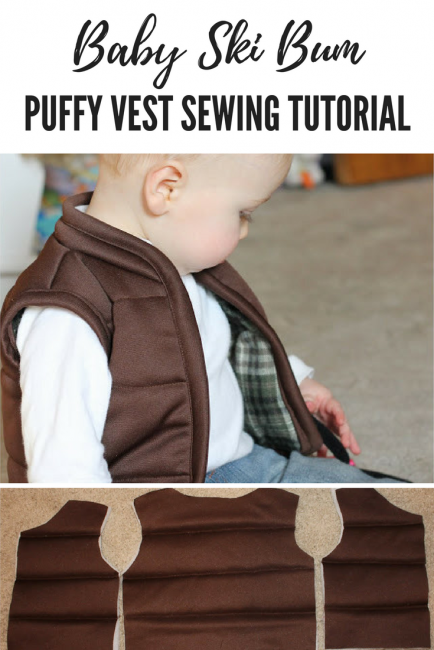 puffy vest tutorial