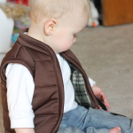 Baby Ski Bum and Puffy Vest Tutorial