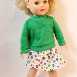 Dressing Up Dolly: FREE 18″ Doll T-Shirt Pattern