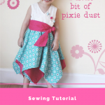 Pixie Dust Free Girl's Dress Tutorial