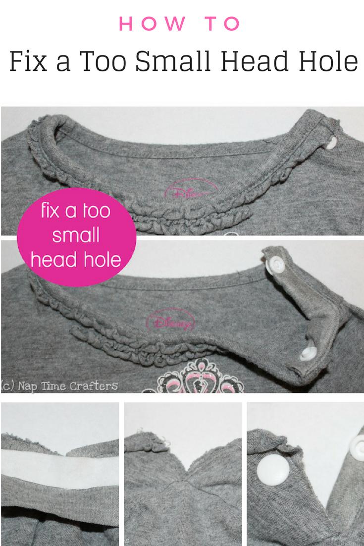 Fix a Too Small Headhole