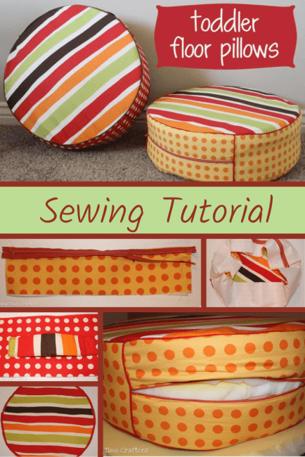 How to Make Floor Pillows