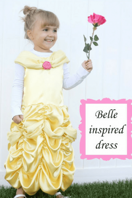 Belle Dress Costume Pattern Beauty and the Beast