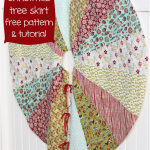 Christmas Tree Skirt Free Pattern & Tutorial