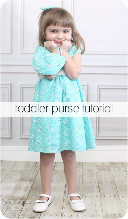toddler purse tutorial