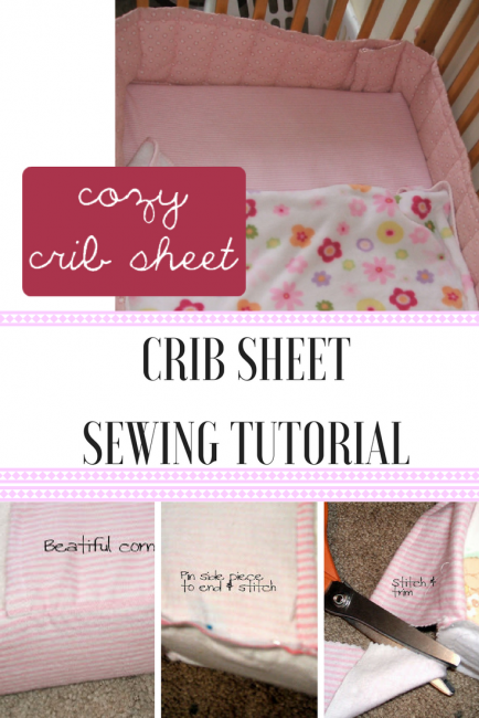 Crib Sheet Sewing Tutorial