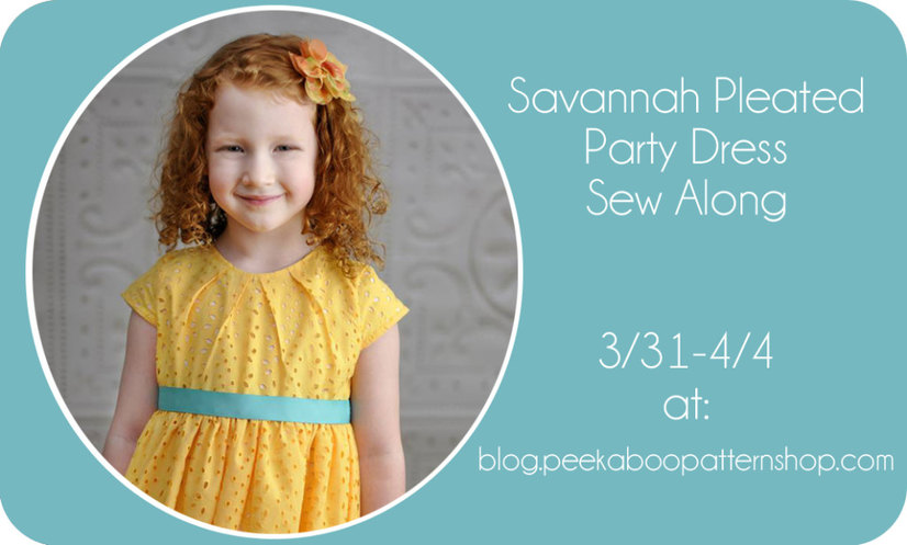savannah sew along