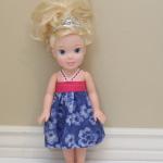 15″ Doll Dress Pattern