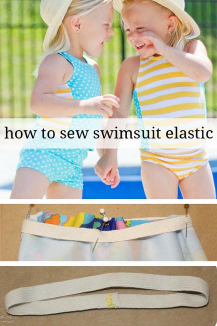 How to Sew Swimsuit Elastic