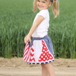 Star Spangled Skort Free Pattern
