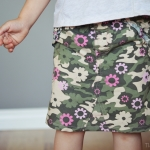 Turn Pants Into a Skirt Tutorial {From Rags to Riches}