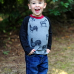 How to Upcycle Men's Shirts Into Boy Shirts