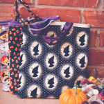 Reversible Quilted Trick-or-Treat Bag