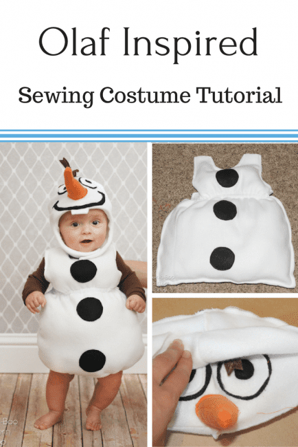 FREE Olaf Costume Tutorial