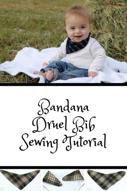Bandana Bib Sewing Pattern