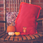 Dollar Bin Decor – Ruffle Pillow