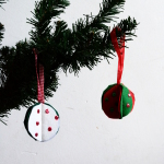 3D Felt Christmas Ornaments