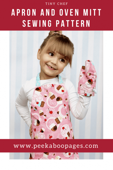 How to Sew a Kids Apron