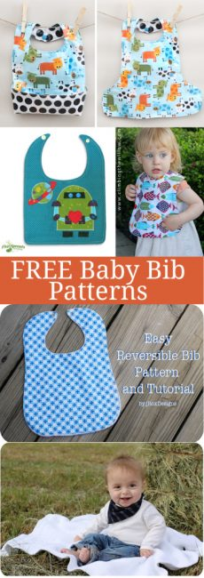 DIY Baby Bib Tutorial