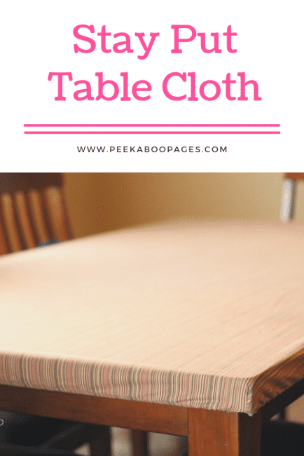Easy Table Cloths