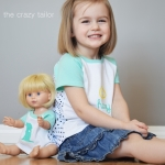 "Raglan Sew-Off: ""Dolly and Me"" style"