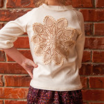 Raglan Sew Off – Vintage Lace Doily T-Shirt by crafty betty