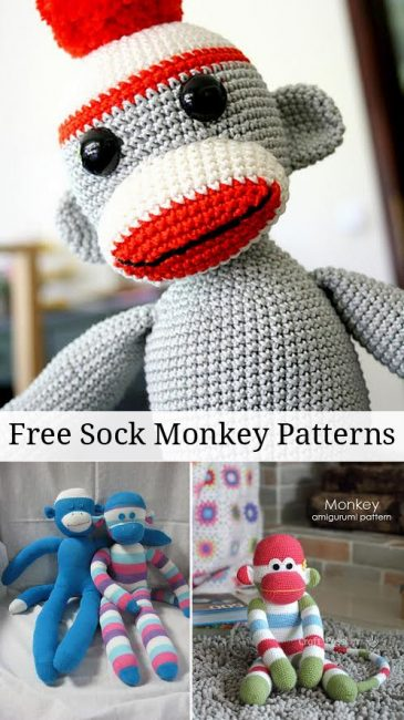 Sock Monkey Patterns and Tutorial