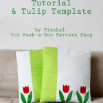Tulip Pillowcase Tutorial