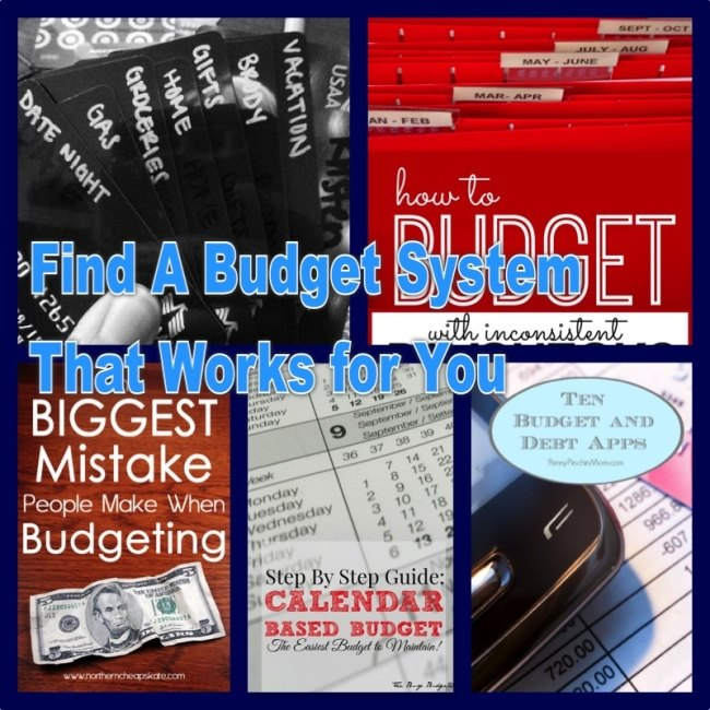 budget collage