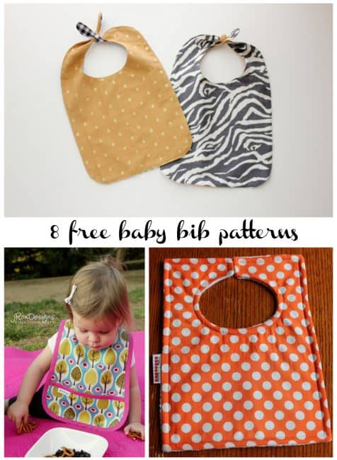 DIY Baby Bib Sewing Pattern